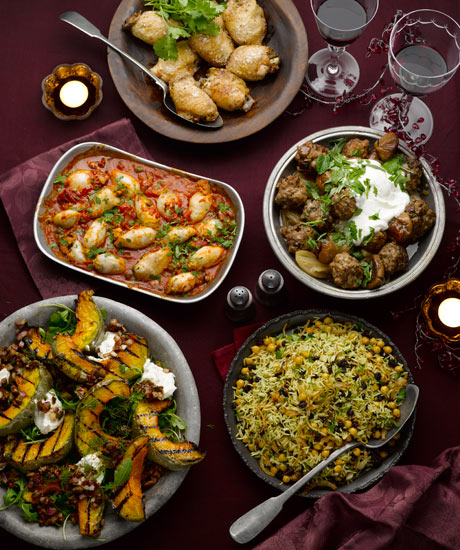 Winter Food And Drink: Yotam Ottolenghi's Party Spread