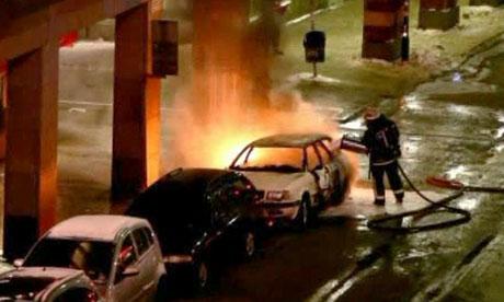 Stockholm car explosion