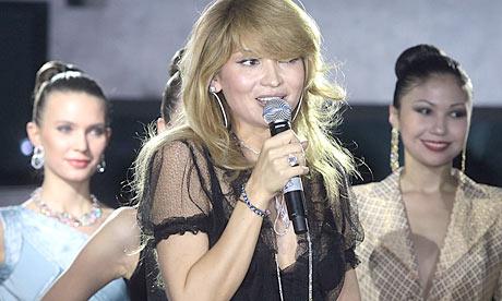 Uzbekistan's 'first daughter' Gulnara Karimova, attending a reception in Tashkent