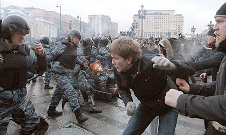 Újabb zavargásoktól tartanak Moszkvában