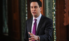 Ed Miliband holds first monthly press conference as Labour leader