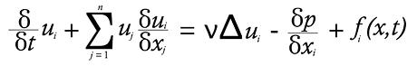 Navier-Stokes equation 1