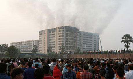 dhaka factory fire
