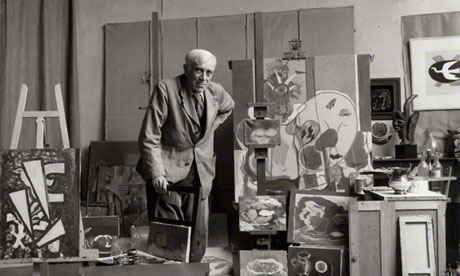 Ida Kar's photograph of Georges Braque