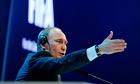 Russia's Prime Minister Vladimir Putin g