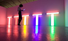 Dan Flavin Unititled (to Don Judd, colorist)