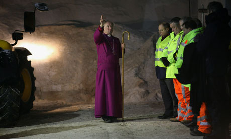 Bishop of Lincoln blesses gritters