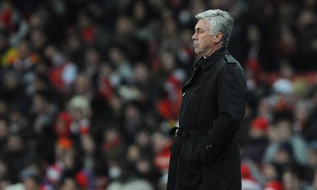 Carlo Ancelotti, the Chelsea manager