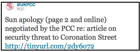 PCC tweet