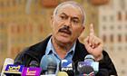 Yemen's president, Ali Abdullah Saleh.