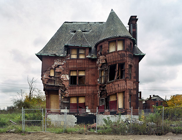 Ruins of Detroit: William Livingstone House, Brush Park