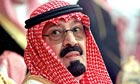 King Abdullah of Saudi Arabia