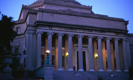 Columbia University library