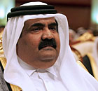 Emir of Qatar Sheikh Hamad bin Khalifa A