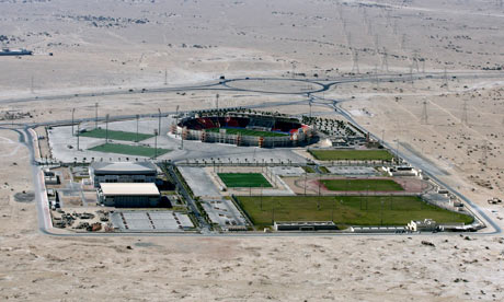 Al-Rayyan stadium in Doha