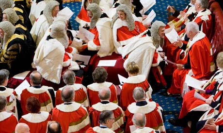 Lords in wigs and robes