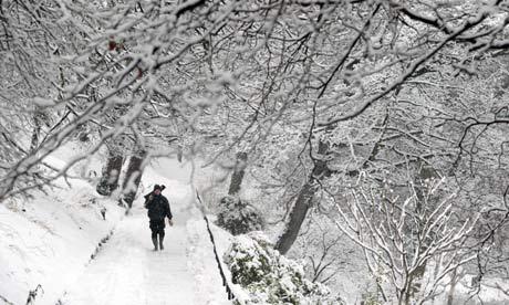 Scottish snow winter weather