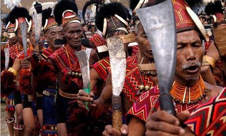 A Naga tribe