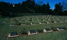A second world war cemetery in Nagaland
