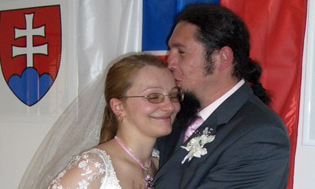 Anna Mitrovic Kotuckova and husband Miroslav wed after meeting in the Forest Cafe in 2005
