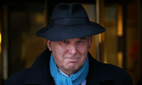 Vince Cable on 9 December 2010.