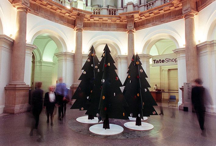 Tate Christmas Trees: Tate Britain Christmas Trees