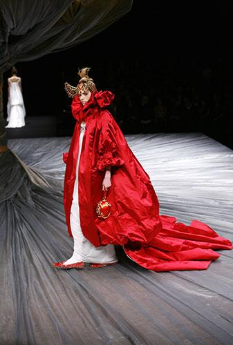 Alexander McQueen: 2008: Alexander McQueen for his autumn/winter 2008-2009 ready-to-wear Paris