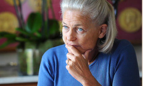 Elisabeth Badinter in Paris