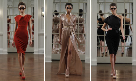 York Dress Company on Victoria Beckham Collection Is A Hit In New York Fashion Week   Life