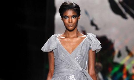 Diane von Furstenberg Fall 2010 collection during New York Fashion Week.