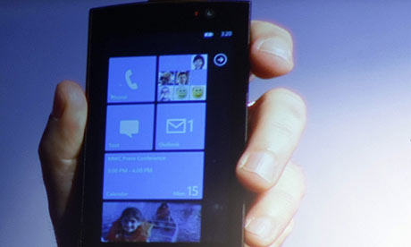 Microsoft's Windows phone series 7