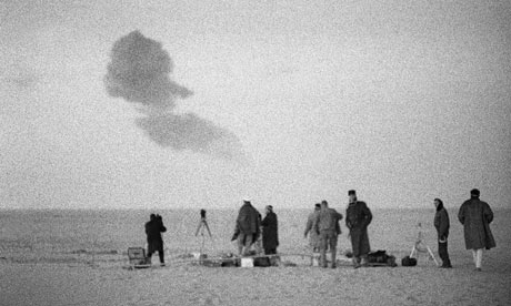 1960s era tests on French troops of the effects of nuclear bombs
