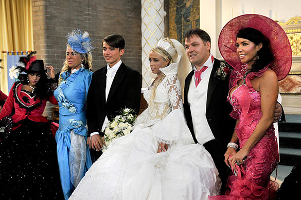 Matrimonio Gipsy Us : In pictures channel s my big fat gypsy wedding