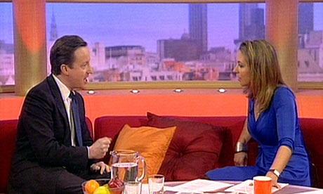 David Cameron on GMTV