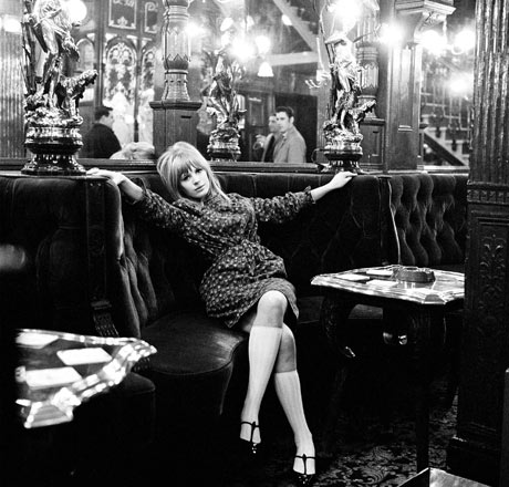 Rock photography: Marianne Faithfull
