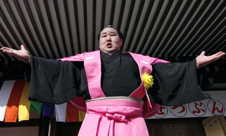 Sumo grand champion Asashoryu