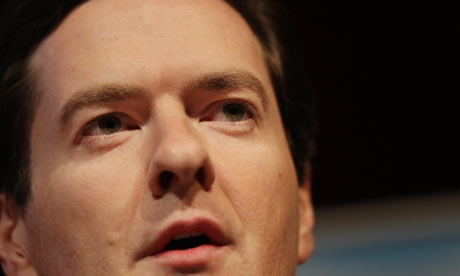 George Osborne proposed eight benchmarks for Tory economic policy