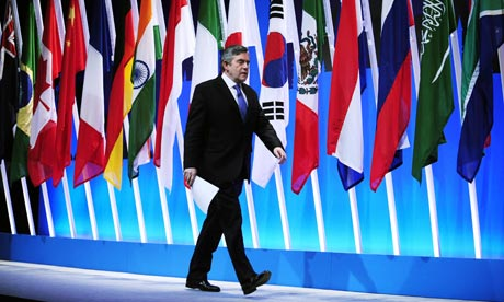 Brown at g20 summit