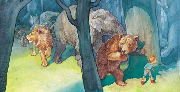 Chris Wormell: Ferocious Wild Beasts! by Chris Wormell