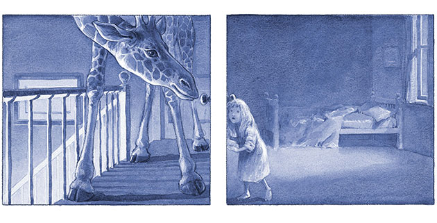 Chris Wormell: Molly and The Night Monster by Chris Wormell