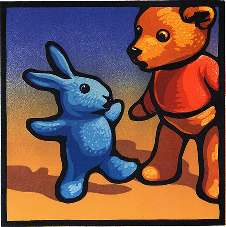 Chris Wormell: Blue Rabbit and Friends by Chris Wormell