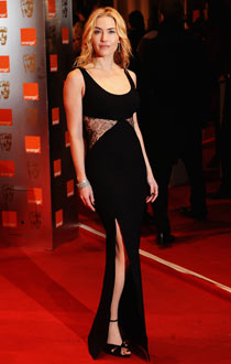 Kate Winslet in Stella McCartney at the Baftas.
