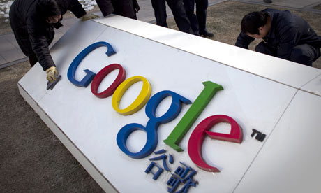 Google sign in China