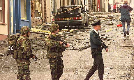 Car bombing for which the Irish National Liberation Army claimed responsibility