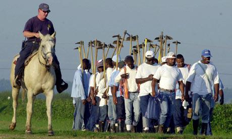 Angola prison in Louisiana