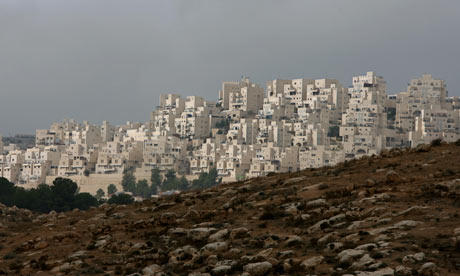 Har Homa settlement in East Jerusalem
