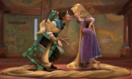 Tangled, Disney's twist on Rapunzel Photograph: Disney