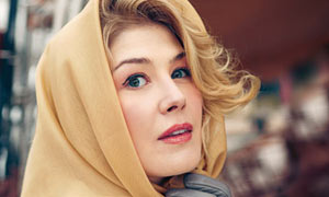Rosamund Pike as Grace Kelly: fashion
