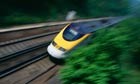 high speed train Eurostar Kent UK