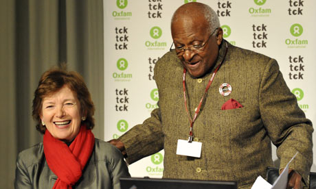 Mary Robinson and Desmond Tutu
